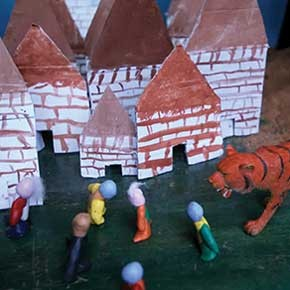 stop-motion animation 1-week workshop