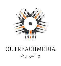 Outreach Media Auroville logo