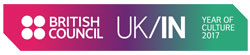 UK India Year of Culture logo